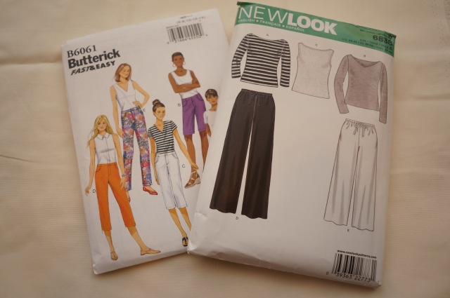 Butterick B6061 and NewLook 6838