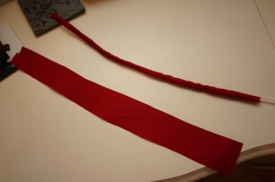 Red Casing and Red Material