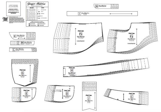 Closet Case Patterns Printable PDF Pattern