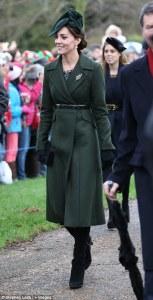 Kate Middleton 2015 Christmas Services