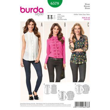 Burda Style Pattern 6578 Blouse
